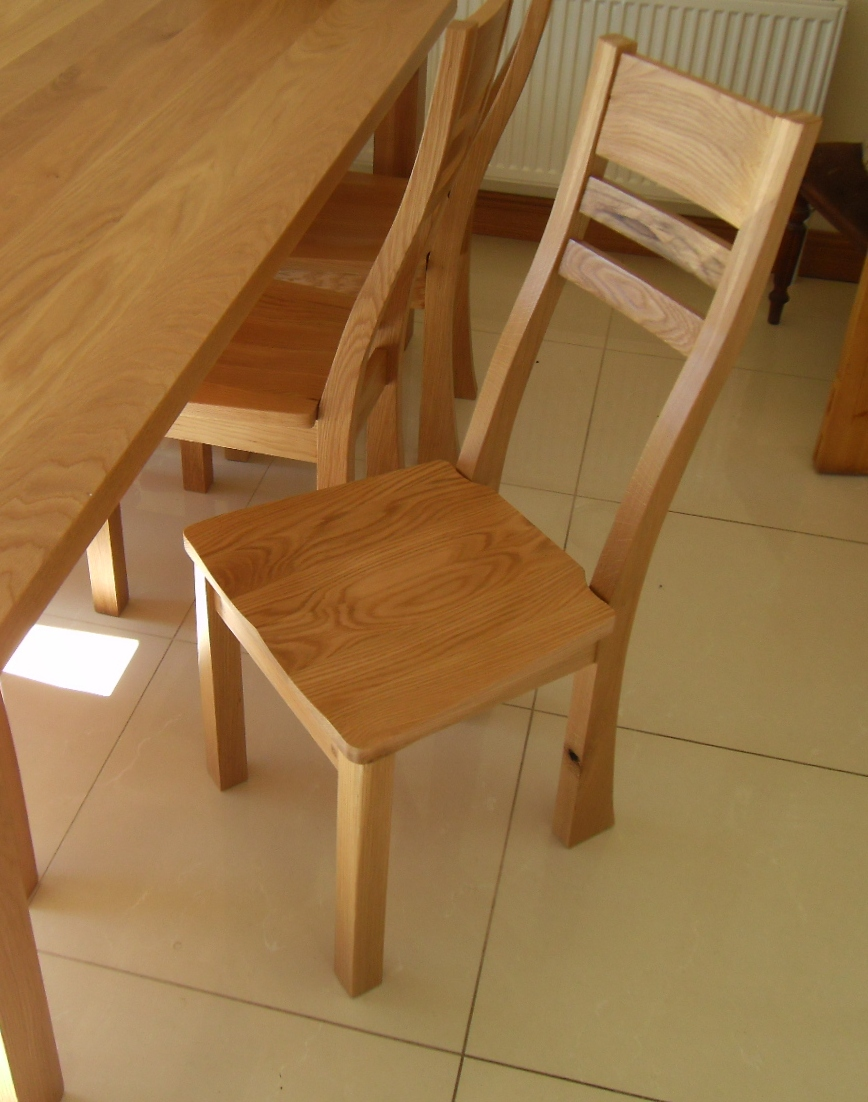 Oak Dining Set Shane Tubrid Furniture amp Wood Turning