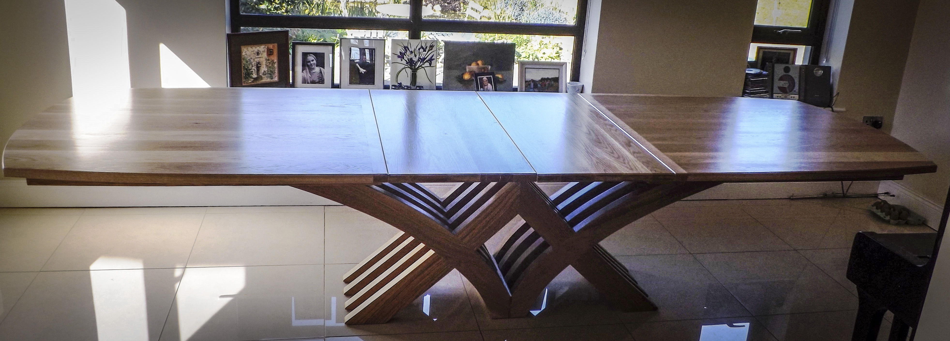 arched extendable dining table shane tubrid furniture by design