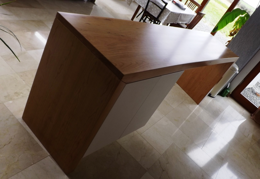 Curved Breakfast Bar Shane Tubrid Furniture By Design