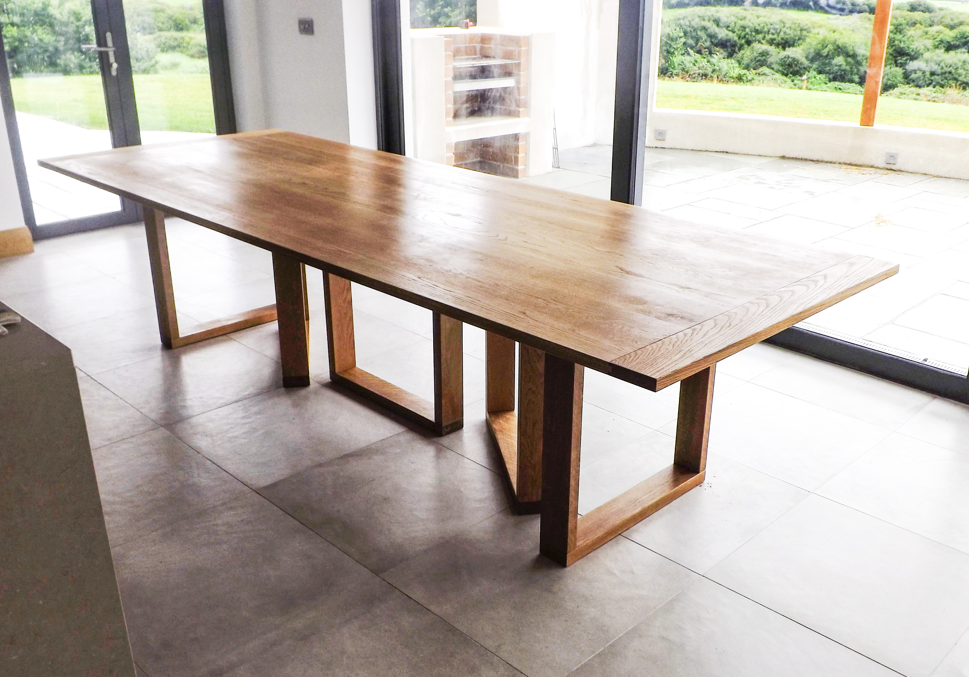 14 Seater Framed Dining Table Shane Tubrid Furniture By Design