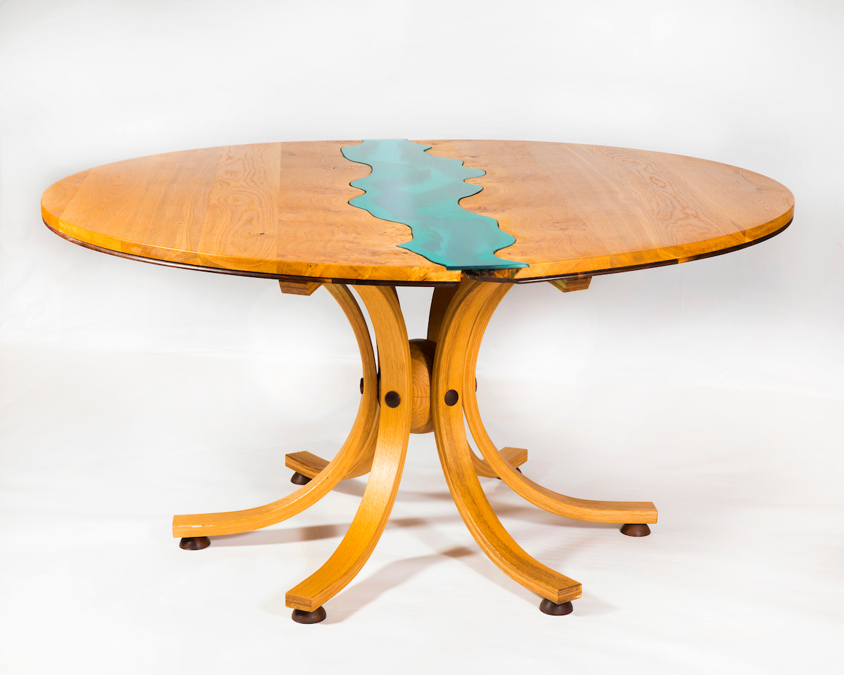 river 2 dining table shane tubrid furniture by design